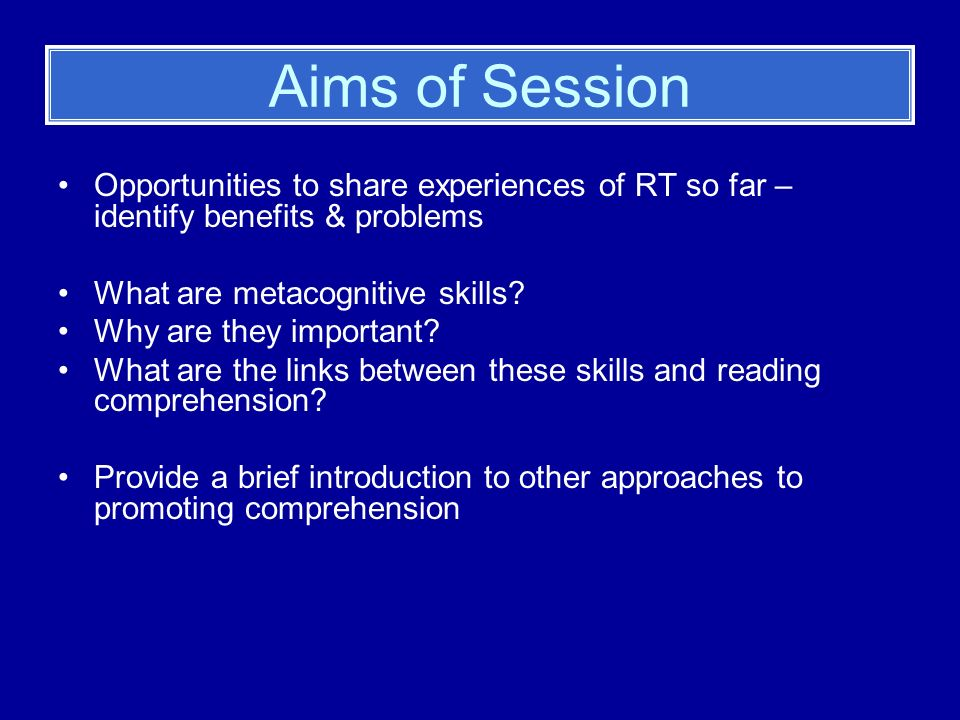 Other Approaches to Promote Reading Comprehension Book detectives Prepared Reading Silent Sustained Reading / Rapid Retrieval of Information Paired Reading Paired Thinking Using audio tapes to support less able readers