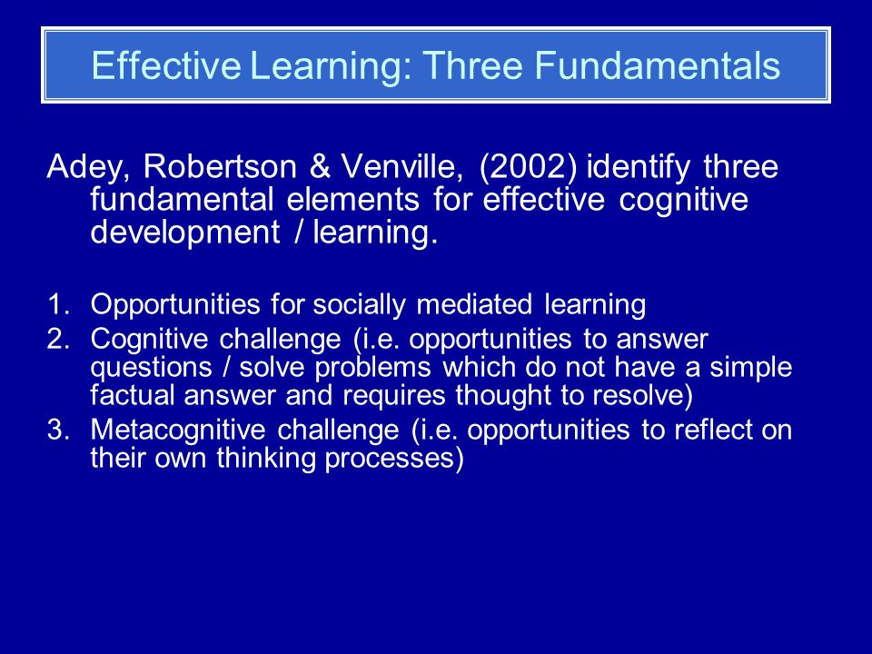 Socially Mediated Learning The Theory Behind RT: Remember Vygotsky.