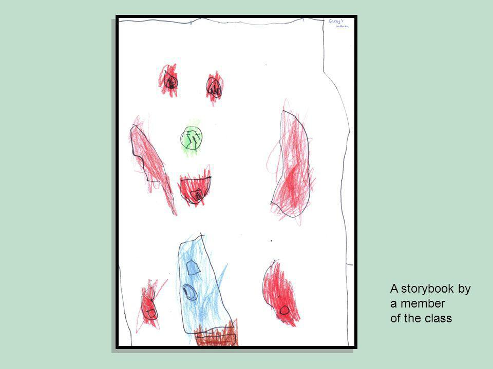 A storybook by a member of the class
