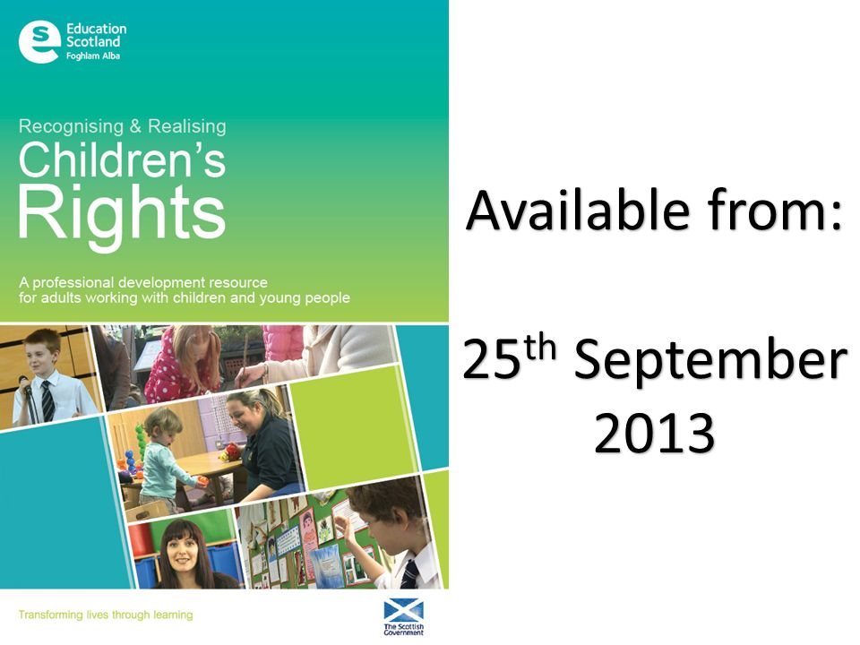 http://bit.ly/rrchildrensrights The RRCR blog signposts visitors to a collection of organisations, resources and websites which will support rights-based practices.