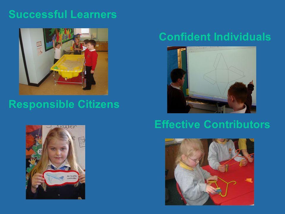 Successful Learners Effective Contributors Responsible Citizens Confident Individuals