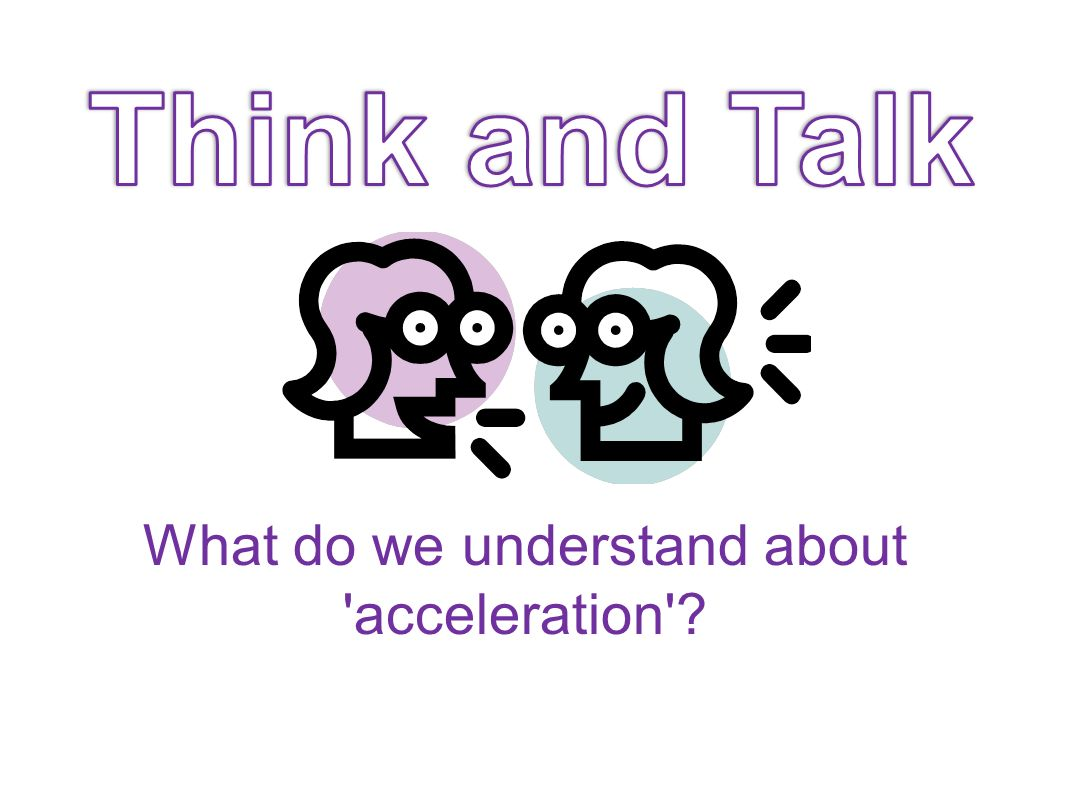 Everyday acceleration What sort of accelerations do you experience in everyday life.