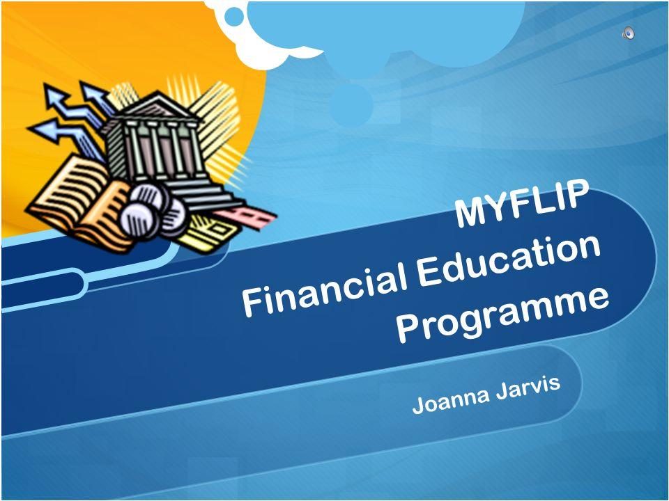 Joanna Jarvis MYFLIP Financial Education Programme