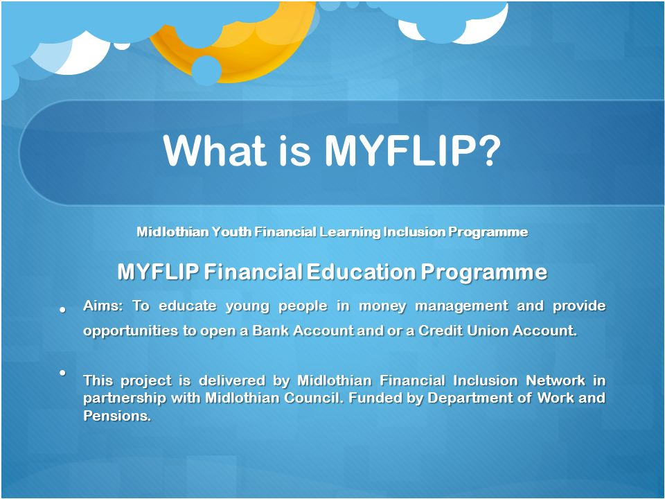 What is MYFLIP.