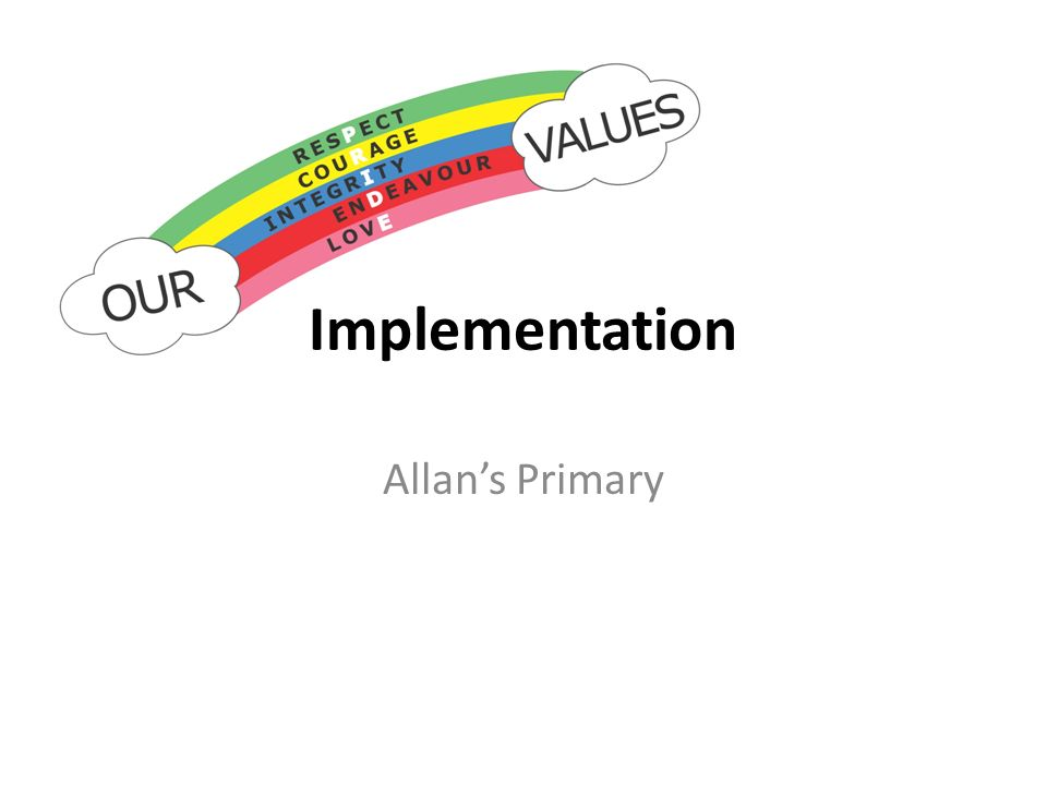 Allans Primary Implementation