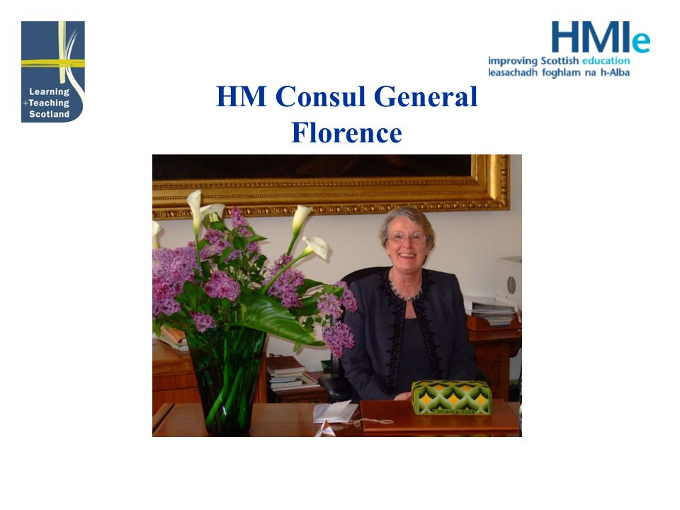 HM Consul General Florence