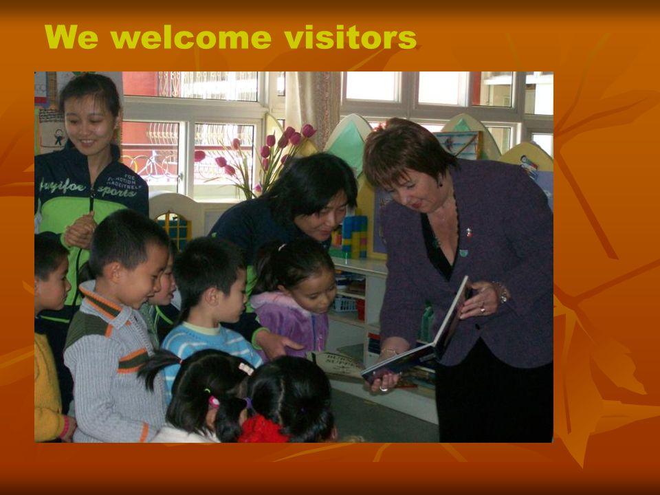 Visit to Beijing Sanlitun Kindergarten March 2009