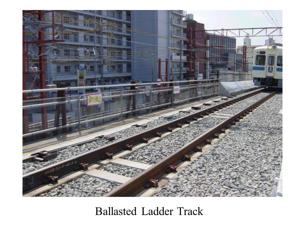 Ballasted Ladder Track