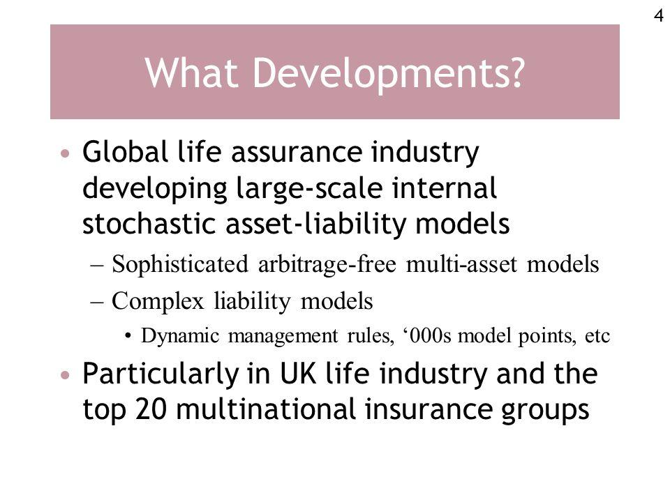 4 What Developments.