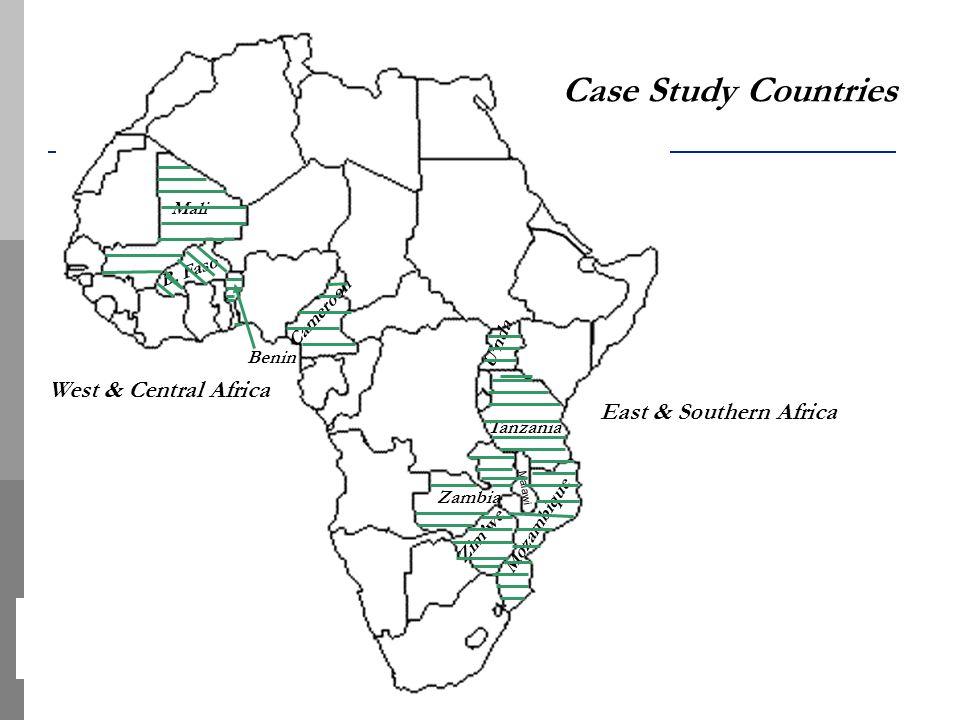 Zambia Zimwe Mozambique Tanzania Mali Cameroon Malawi B.