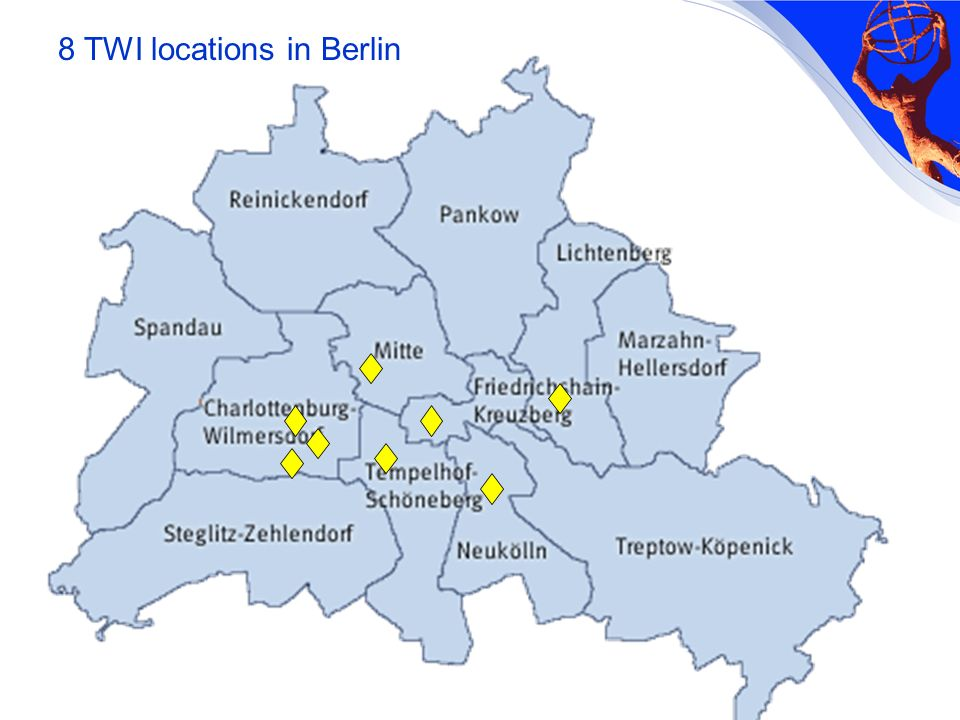 8 TWI locations in Berlin