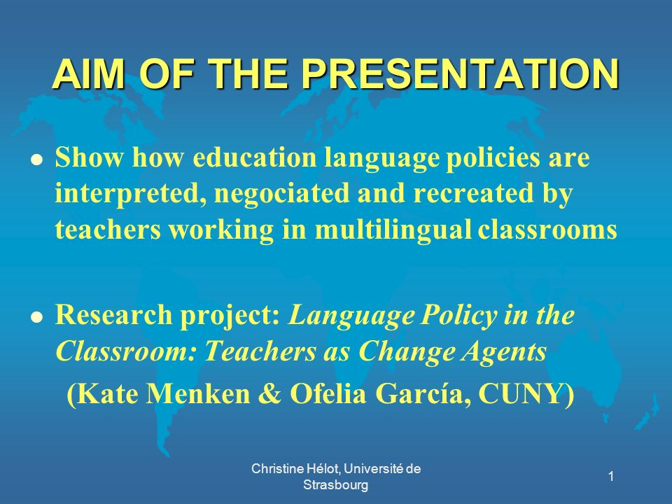 CREATING MULTILINGUAL SPACES CREATING MULTILINGUAL SPACES (MGR, 2008: 21) l « Whereas this linguistic difference could have been a hindrance to the socialisation of the children, I have the impression it has helped to build it faster.