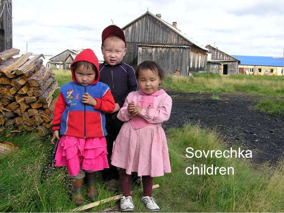 Sovrechka children