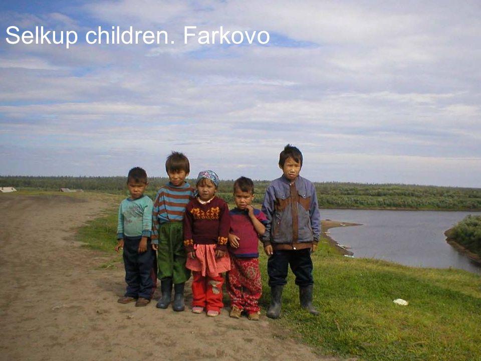 Selkup children. Farkovo