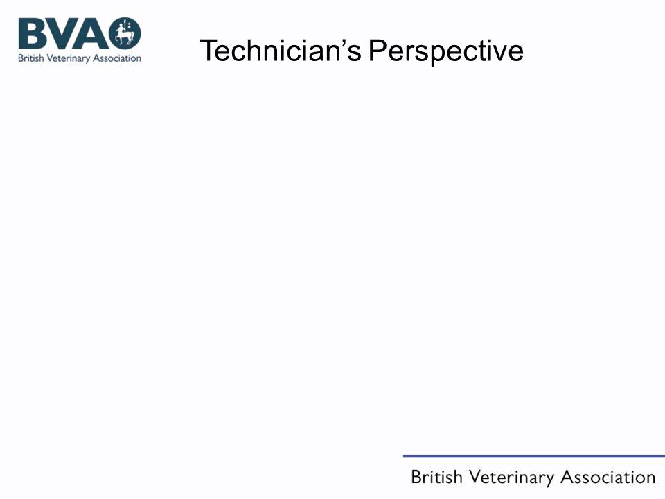 Technicians Perspective