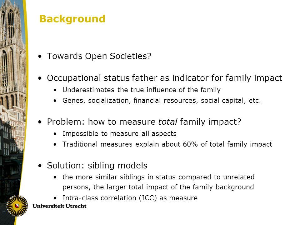 Background Towards Open Societies.