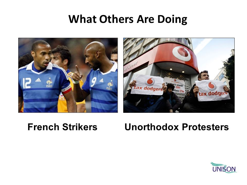 What Others Are Doing French Strikers Unorthodox Protesters