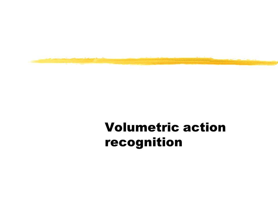 Volumetric action recognition