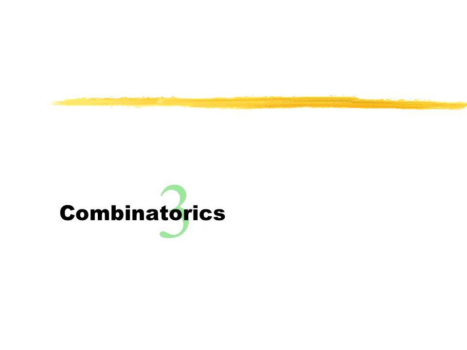 3 Combinatorics