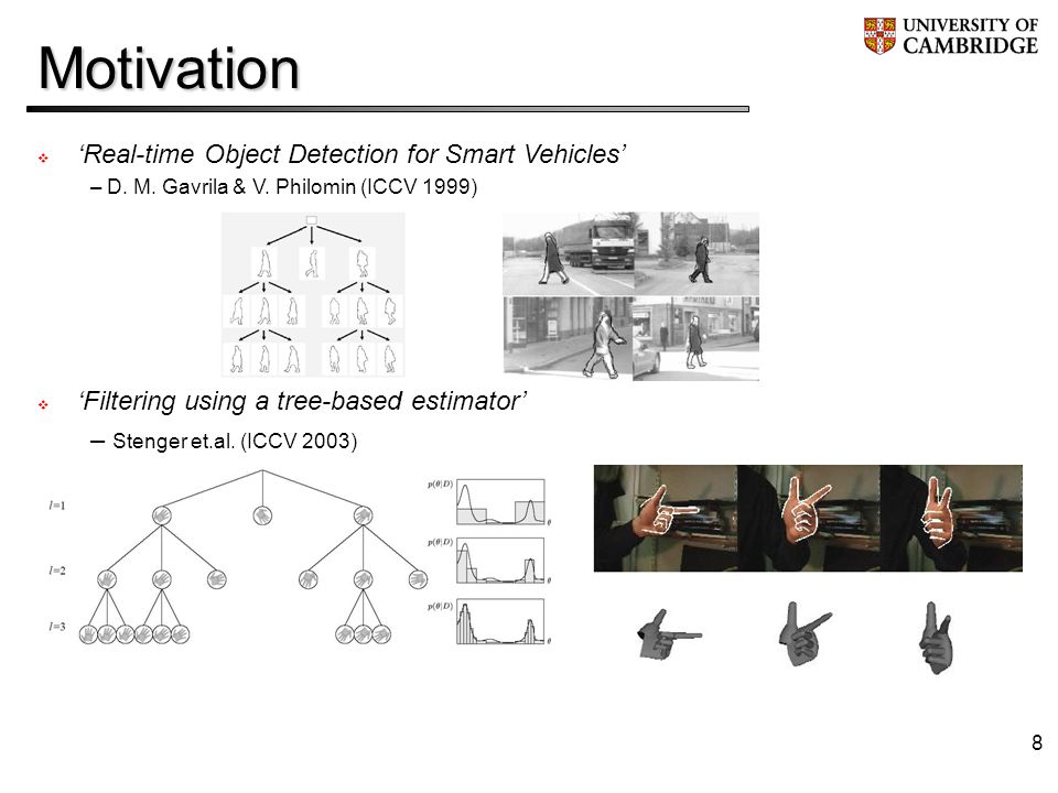 8Motivation Real-time Object Detection for Smart Vehicles – D.