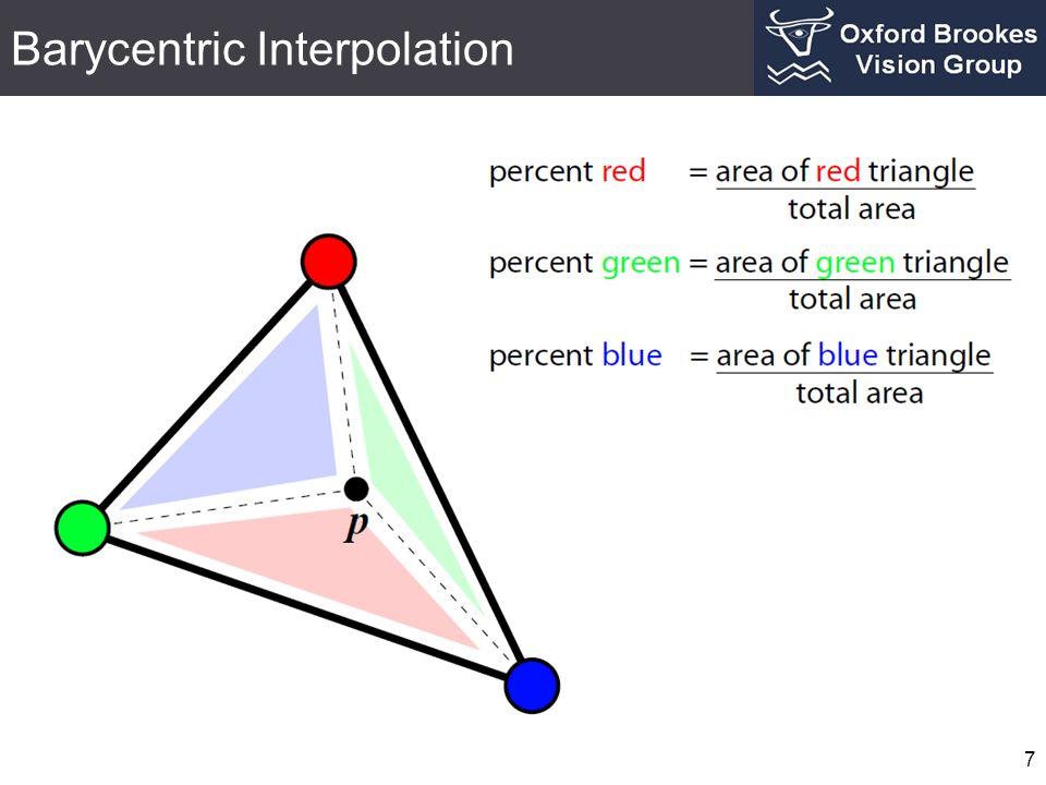 Barycentric Interpolation 7