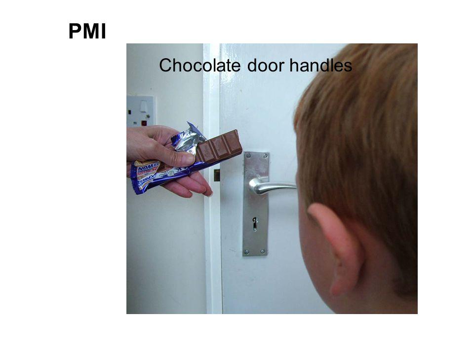 PMI Chocolate door handles