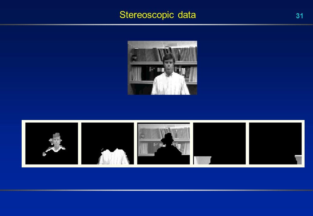 31 Stereoscopic data