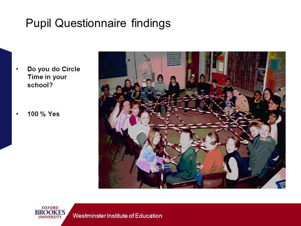 Westminster Institute of Education Who make good mediators.