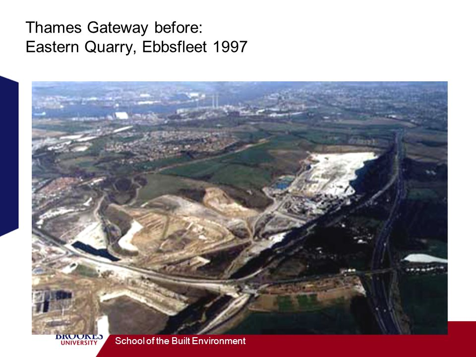 Thames Gateway before: Eastern Quarry, Ebbsfleet 1997