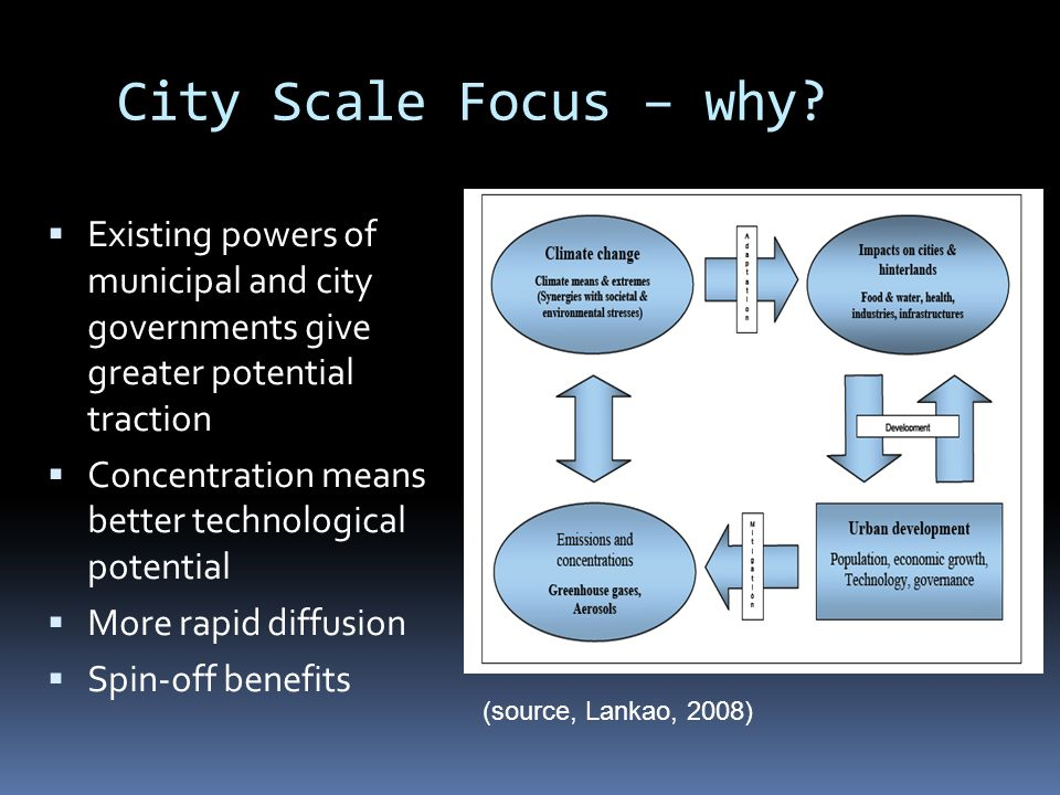 City Scale Focus – why.