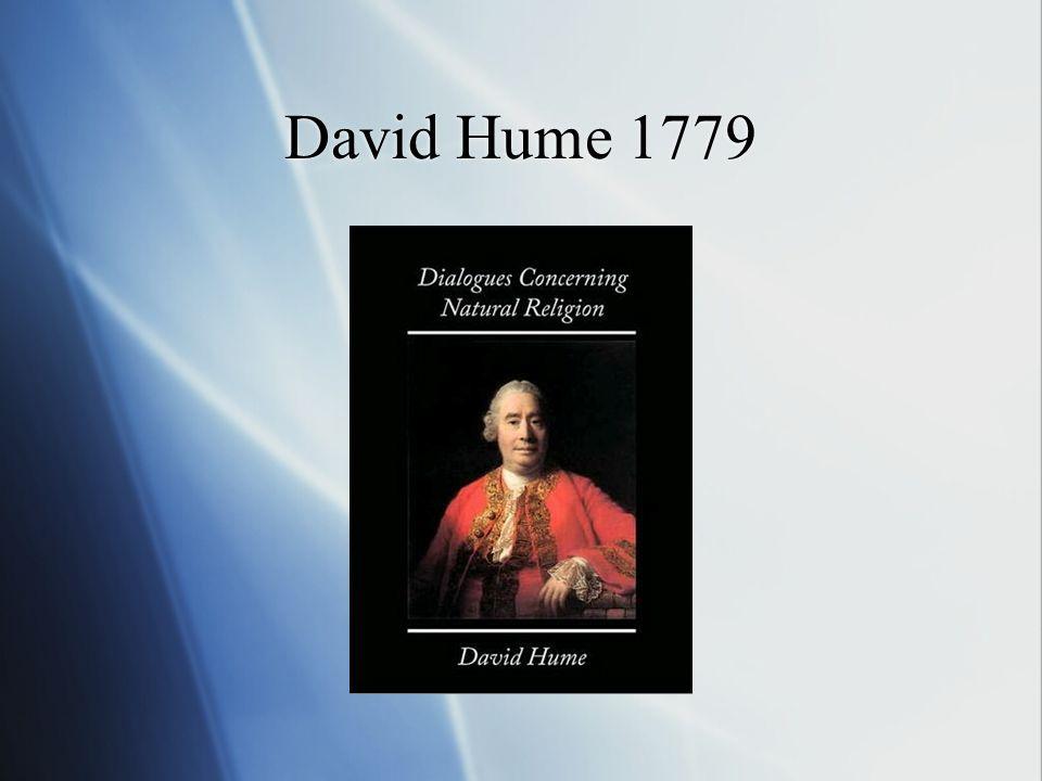 David Hume 1779