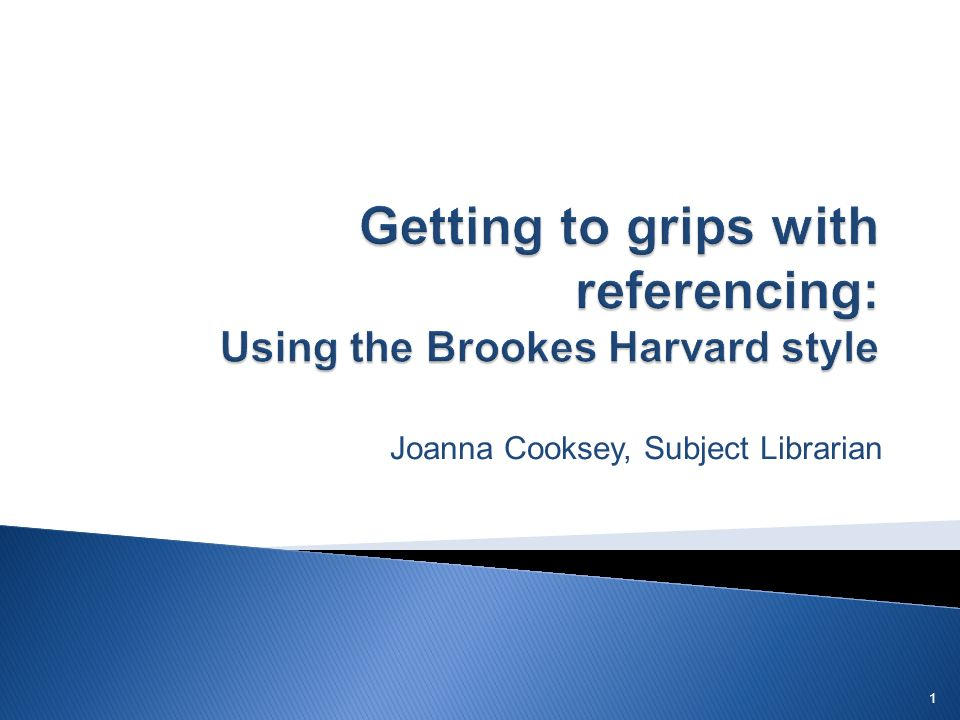 Joanna Cooksey, Subject Librarian 1