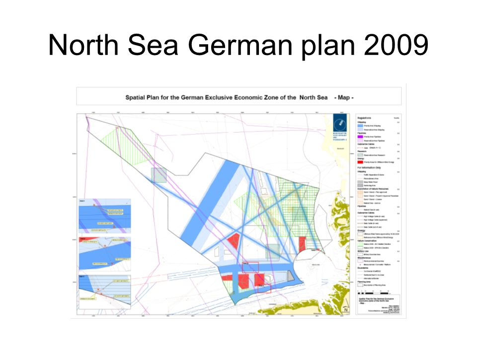 North Sea German plan 2009