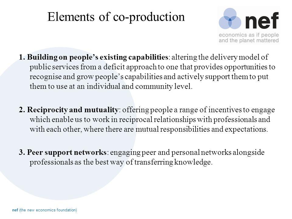 nef (the new economics foundation) 1.