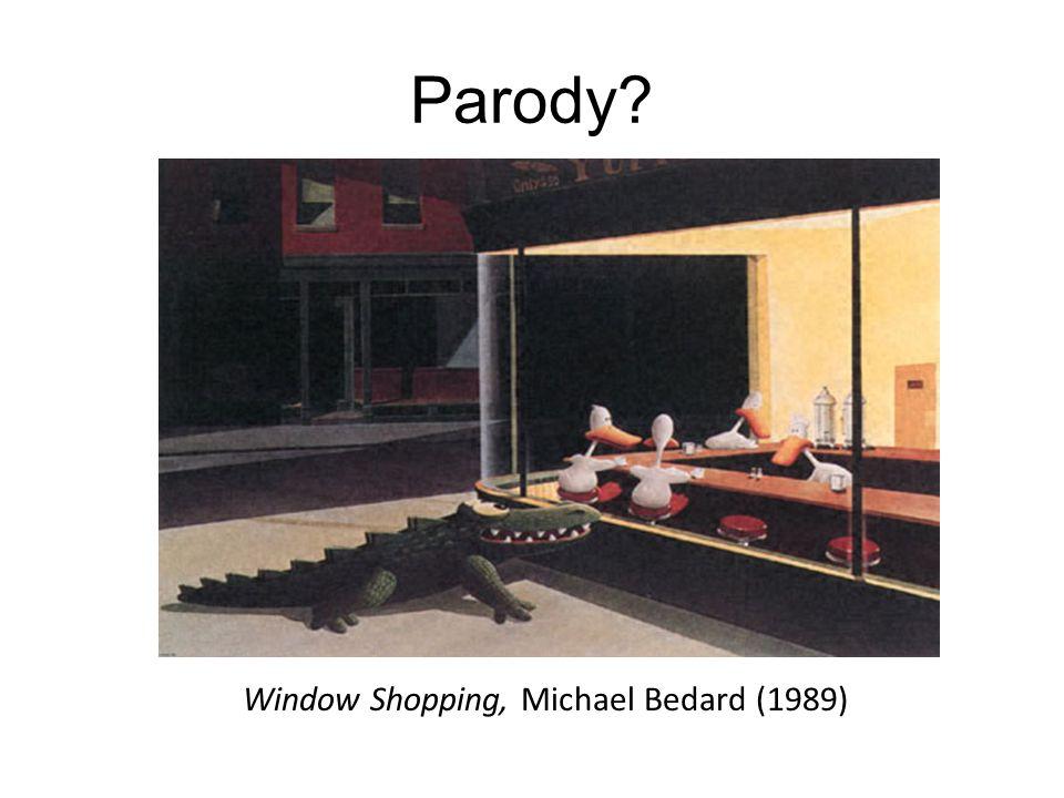 Parody? Window Shopping, Michael Bedard (1989)