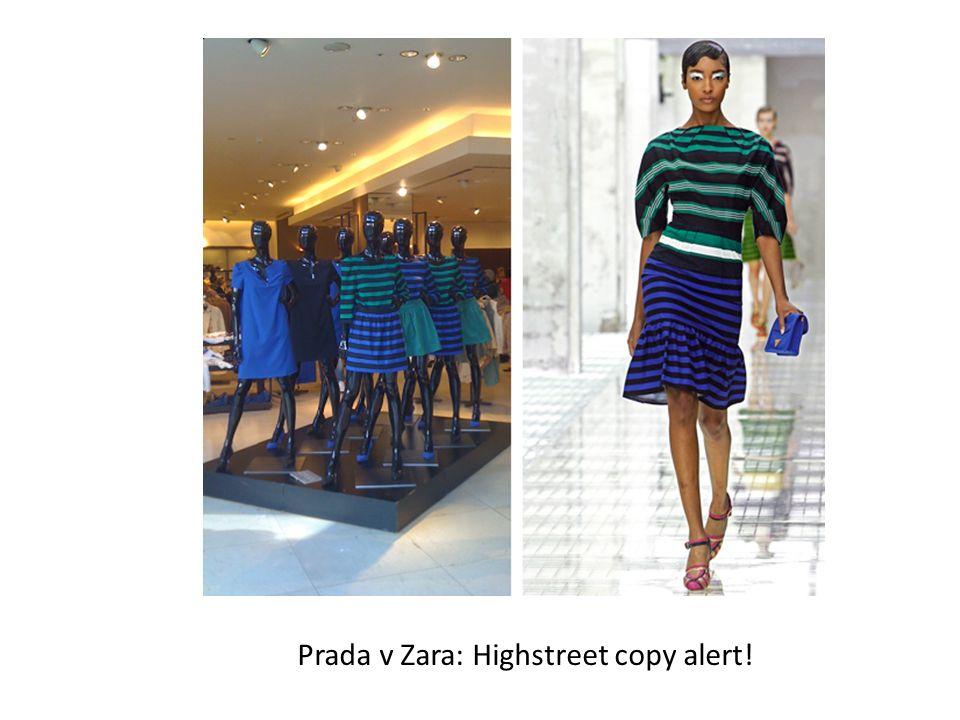 Prada v Zara: Highstreet copy alert!