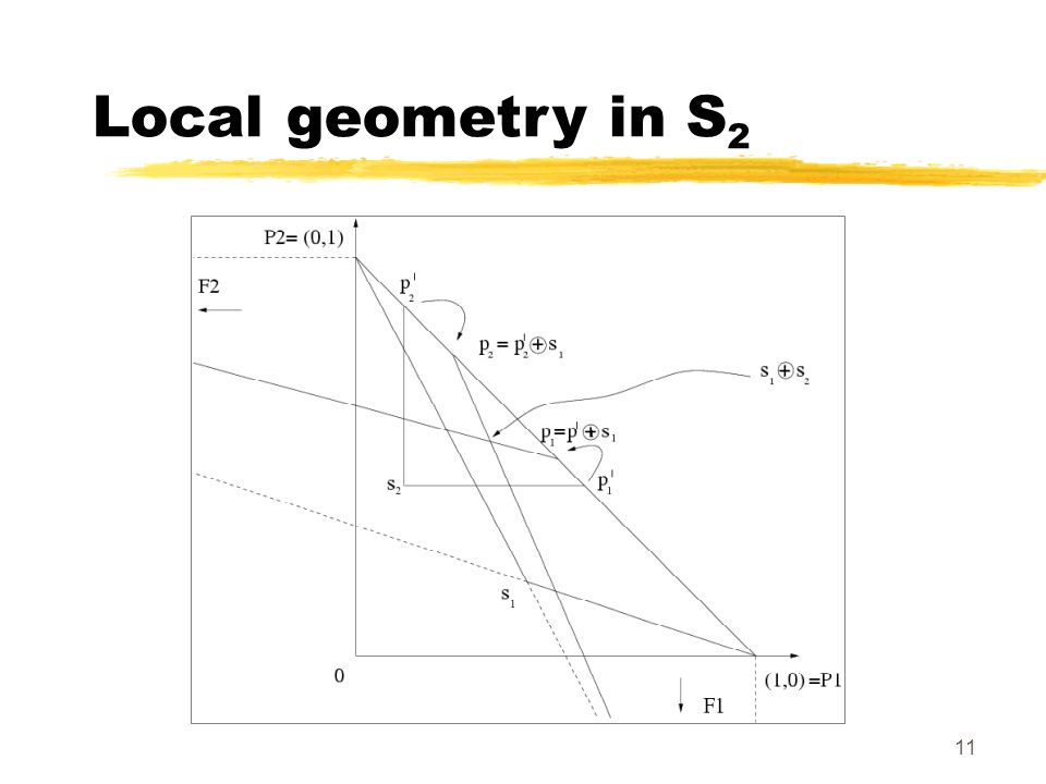 11 Local geometry in S 2
