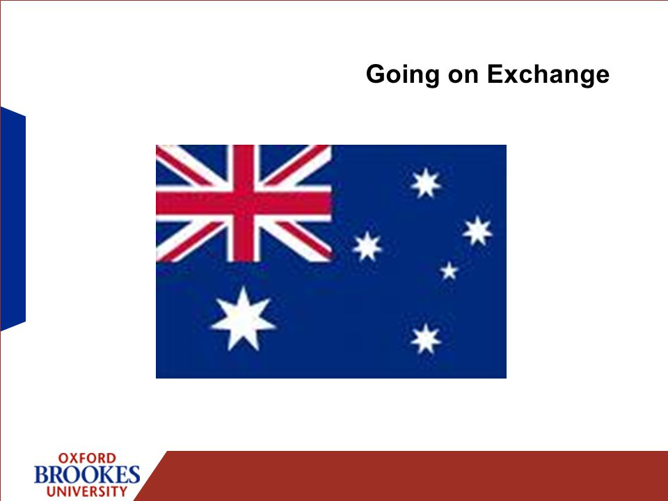 Going on Exchange
