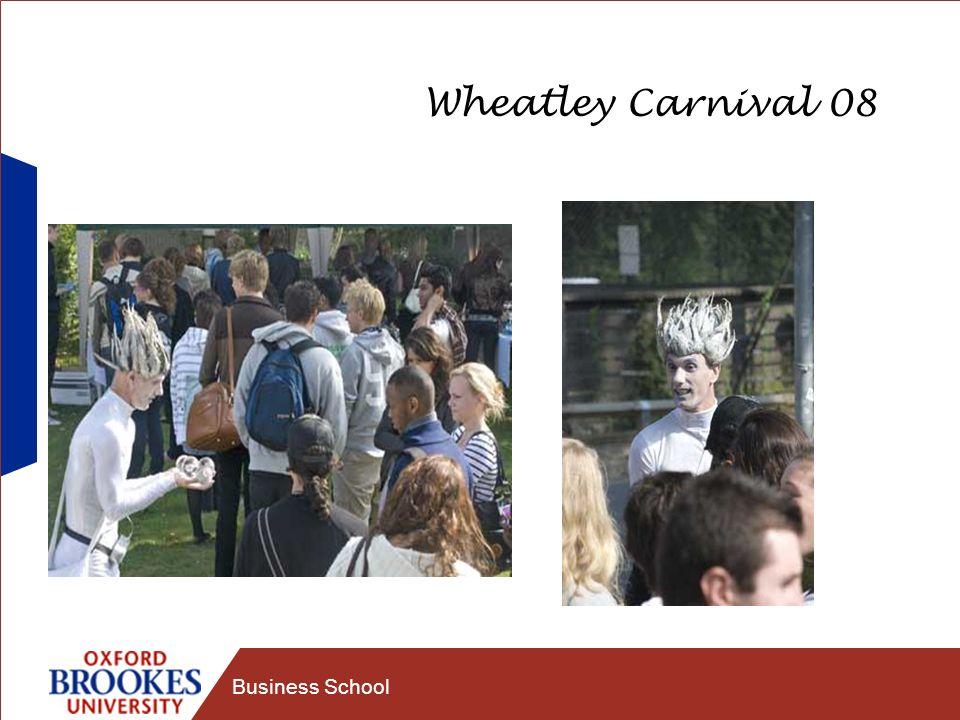 Business School Wheatley Carnival 08
