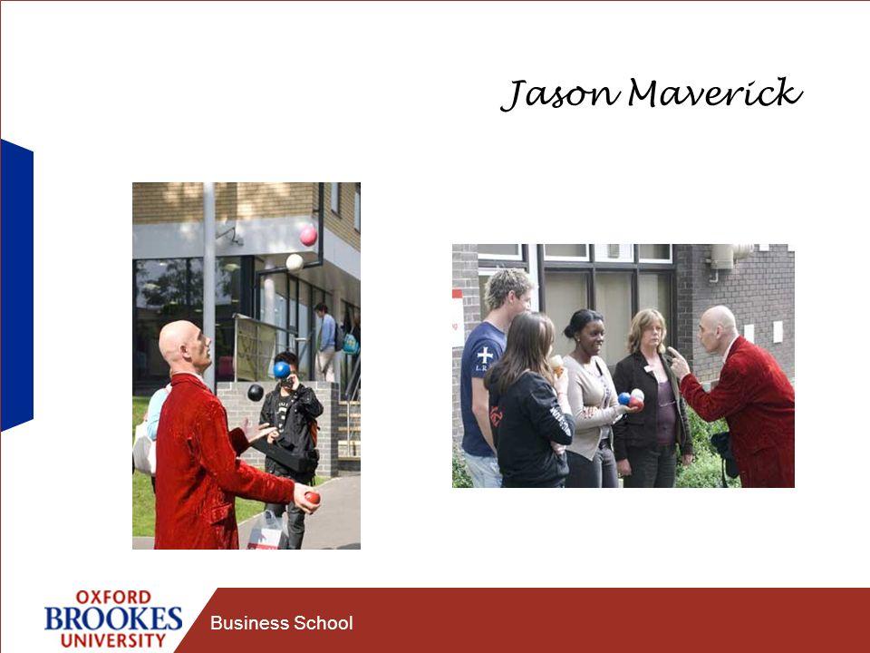 Business School Jason Maverick