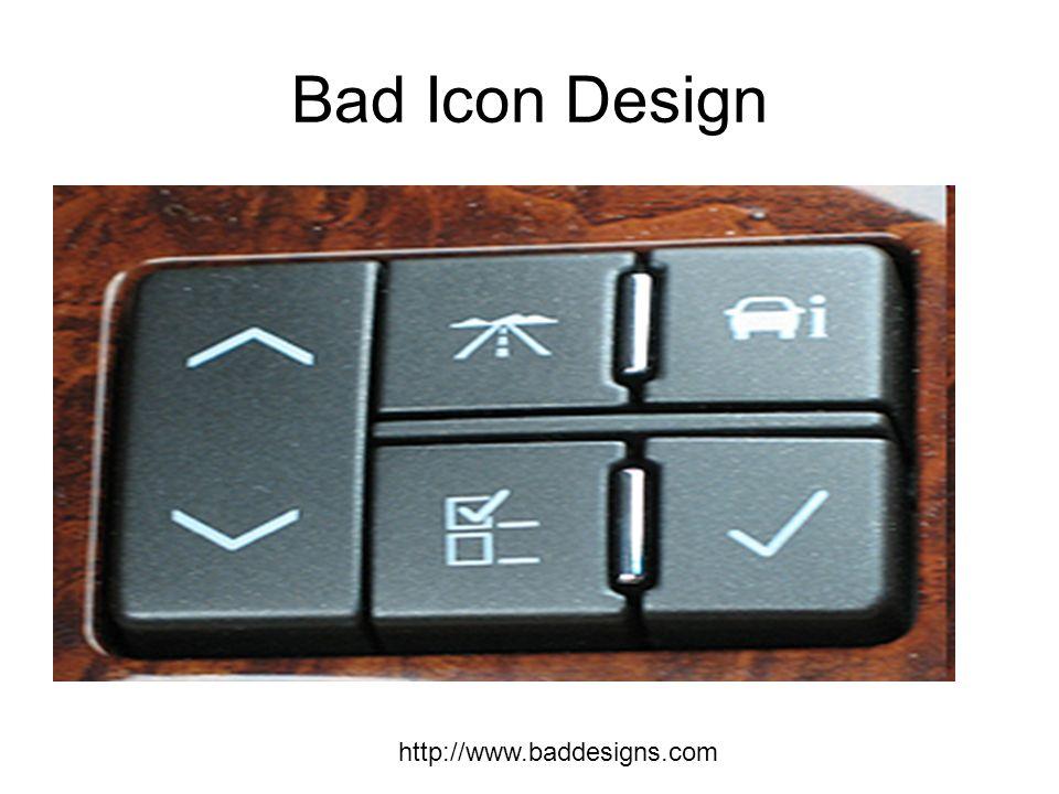 Bad Icon Design http://www.baddesigns.com