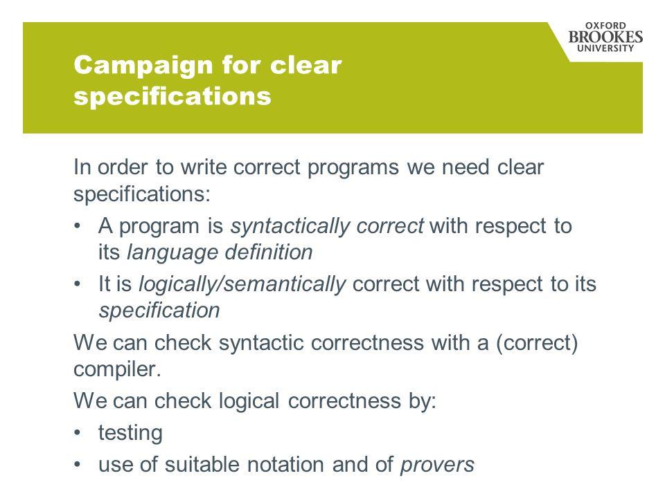 Spec# Spec sharp: based on the C# programming language.