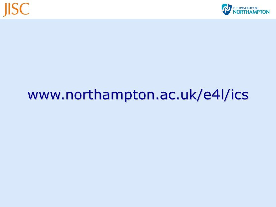 www.northampton.ac.uk/e4l/ics