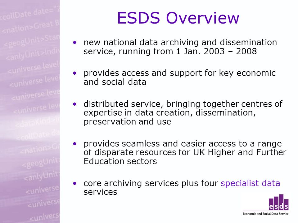 UKDA WEBSITE DEMO: health data focus Search/browse data Major series Documentation Thesaurus Variable search Download Ordering