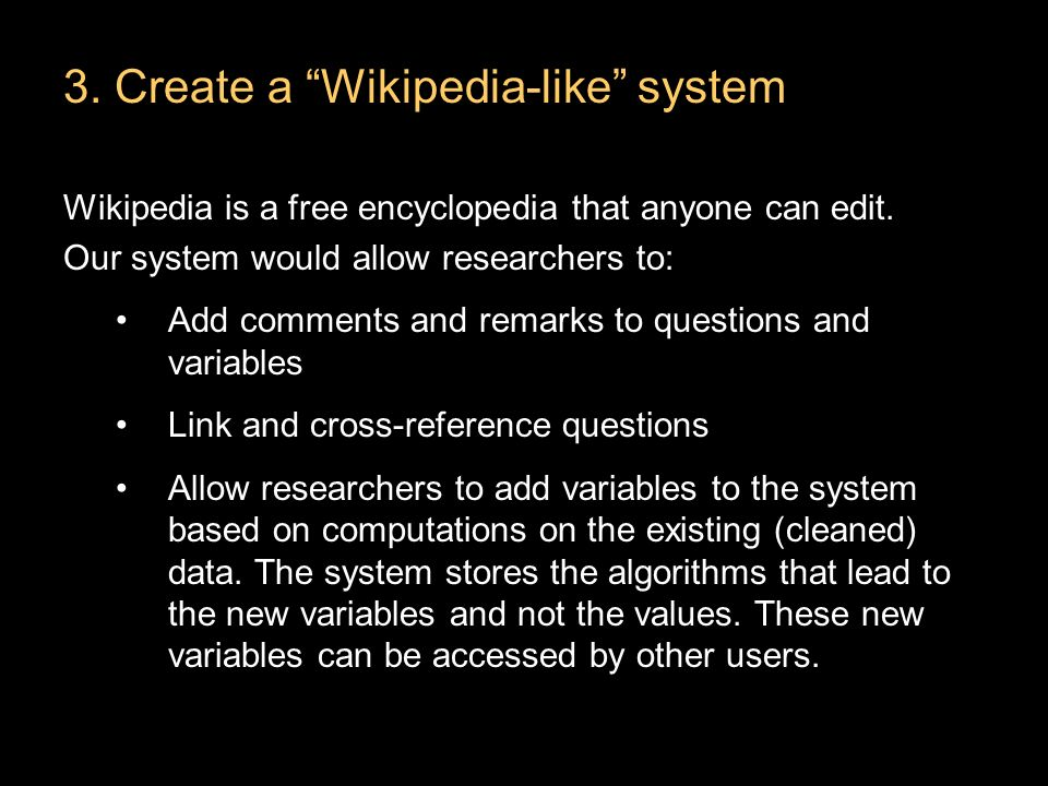 Wikipedia is a free encyclopedia that anyone can edit.