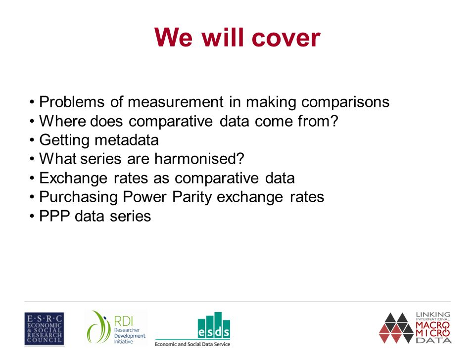 Making cross-national comparisons using macro data Unit 2 Dave Fysh University of Portsmouth