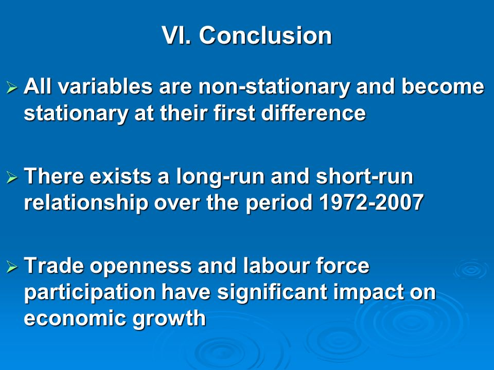 Economic growth causing trade openness and human capital Economic growth causing trade openness and human capital Human capital causing labor force pa