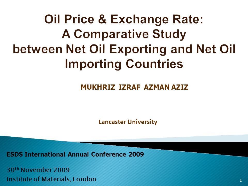 1 MUKHRIZ IZRAF AZMAN AZIZ Lancaster University ESDS International Annual Conference th November 2009 Institute of Materials, London