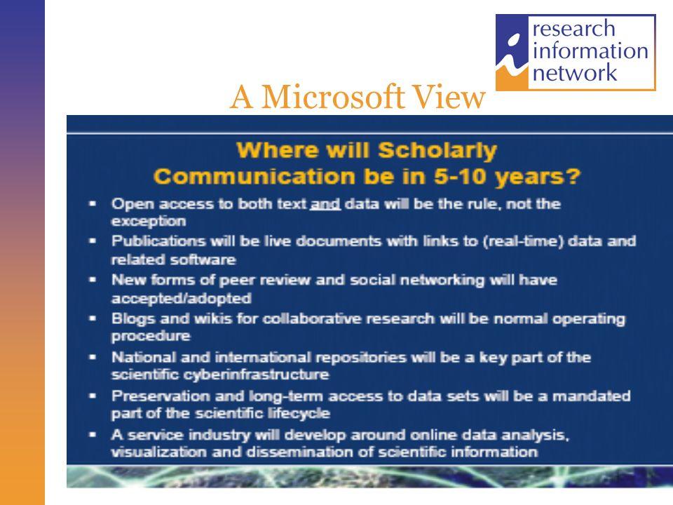 A Microsoft View