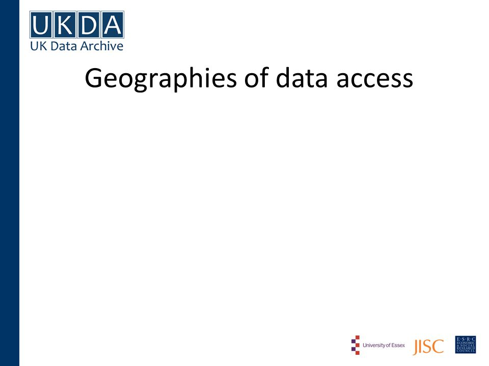 Geographies of data access